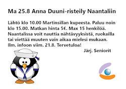 Anna Duuni naantali 25-8-2014