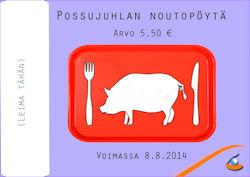 possujuhlien lounaslippu_2014