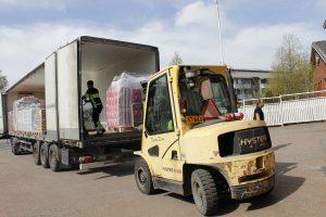 TST:lle EU-ruokaa yli 25 000 kiloa