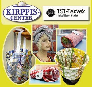 TST-Texvexin myyntipisteet avattu Kirppis-Centereissä