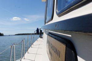 Luonto- ja kalastusmatka Karhuluotoon to 4.7.