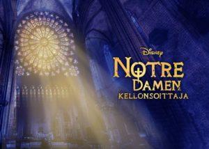 Teatterimatka Notre Damen kellonsoittaja -musikaaliin