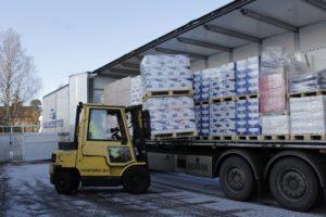 TST:lle yli 30 tuhatta kiloa EU-ruokaa!