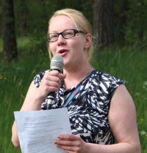 TST-Radion haastattelussa Taimi Räsänen