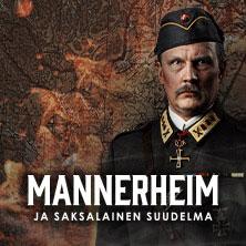 Porin teatterissa esitettävä näytelmä Mannerheim ja saksalainen suudelma