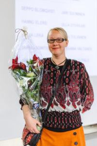 Taimi Räsänen jatkaa TST:n puheenjohtajana