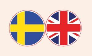 Englannin ja ruotsin keskusteluryhmät start/börjar